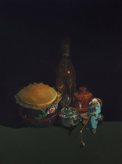 Oil on canvas, 101.6 x 76.2 cm