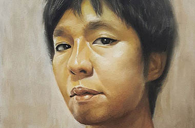 J.M.W. - Realistic Portrait Drawing, Singapore art class and arts scene