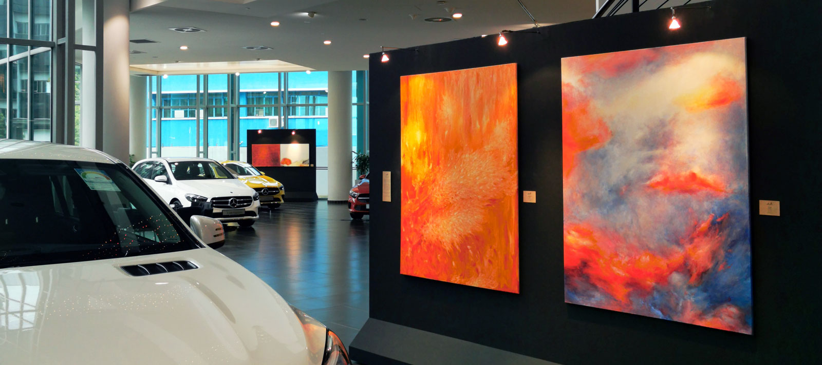 Singapore Art Exhibition at C&C Mercedes-Benz Center
