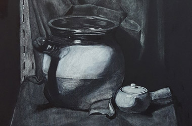 Still Life: Classical realism in Singapore contemporary art and arts scene. Artwork by Singapore contemporary artist