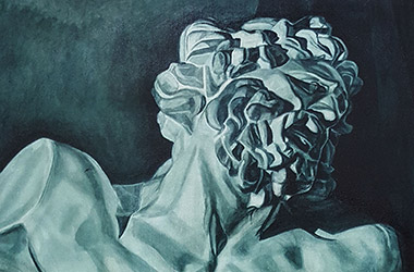 Laocoon: underpainting classical realism in Singapore contemporary art scene. Artwork by Singapore contemporary artist