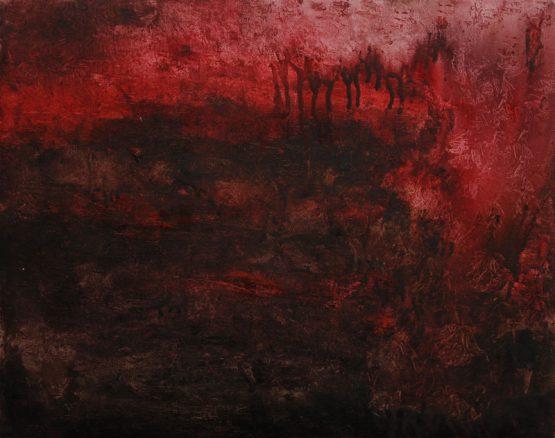 Oil on canvas, 21 x 29.7 cm