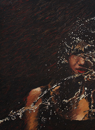 Oil on canvas, 101.6 x 76.2 cm