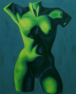 Oil on canvas, 76 x 61 cm