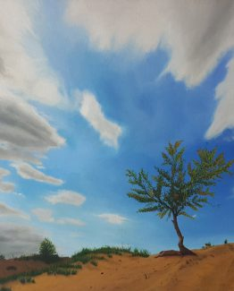 Oil on canvas, 61 x 76 cm